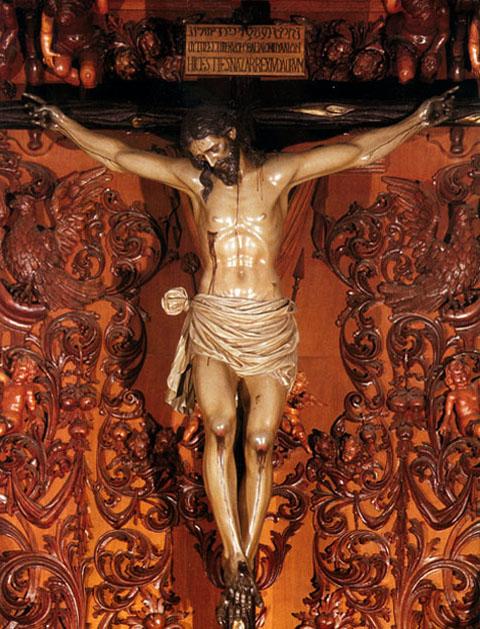 Cristóbal Ramos Cristo_retablo